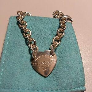 Tiffany & Co. Heart Tag Bracelet Sterling Silver
